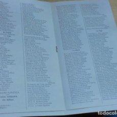 Líneas de navegación: LISTA PASAJEROS COMPAÑÍA TRASATLÁNTICA ESPAÑOLA VAPOR-CORREO MARQUÉS DE COMILLAS AÑO 1941. Lote 195108992