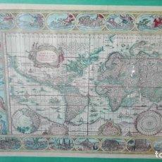 Líneas de navegación: MAPA CARTOGRÁFICO CON LÍNEAS DE NAVEGACIÓN CORTESÍA DE BRISTOL. Lote 195488417