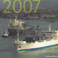 Líneas de navegación: UNIPORT 2007 ANUARIO PUERTO BILBAO. Lote 196624910
