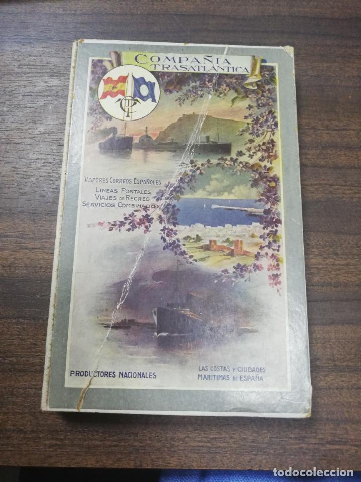 COMPAÑIA TRASATLANTICA. VAPORES CORREOS ESPAÑOLES. LIBRO DE INFORMACION PARA PASAJEROS. 1913-14. (Coleccionismo - Líneas de Navegación)