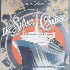 Linhas de navegação: PR-1852. SS ROTTERDAM SILVER JUBILEE WORLD CRUISE. ITINERARY, PORTS OF CALL, DECK PLAN. 1983. Lote 198060713