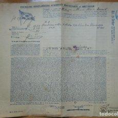 Linee di navigazione: CONOCIMIENTO DE EMBARQUE KONINKLIJKE NEDERLANSCHE STOOMBOOT MAATSCHAPPIJ AT AMSTERDAM. CADIZ 1914.. Lote 199402580