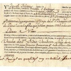 Linhas de navegação: CONOCIMIENTO DE EMBARQUE AMSTERDAM 1898.. Lote 200838336