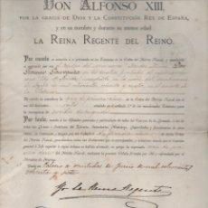 Líneas de navegación: CRUZ DE PRIMERA CLASE AL D. FCO. JAUREGUIZAR. SALVAR VIDA BUQUE AMARICANO CITY OF MERIDA 1887,LEER. Lote 204075602