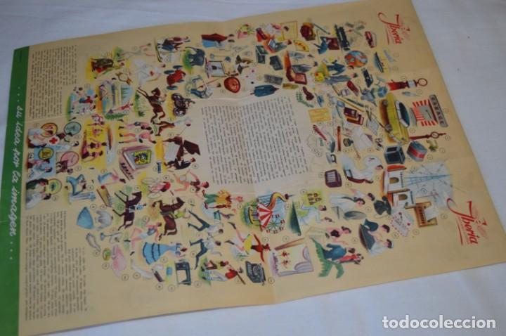 Líneas de navegación: IBERIA años 50/60 - Lote antiguos documentos / catálogos pasajeros - Muy curiosos y variados ¡Mira! - Foto 4 - 198845186