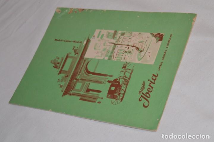 Líneas de navegación: IBERIA años 50/60 - Lote antiguos documentos / catálogos pasajeros - Muy curiosos y variados ¡Mira! - Foto 10 - 198845186