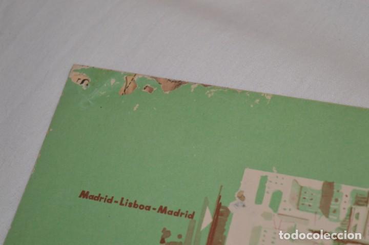Líneas de navegación: IBERIA años 50/60 - Lote antiguos documentos / catálogos pasajeros - Muy curiosos y variados ¡Mira! - Foto 11 - 198845186