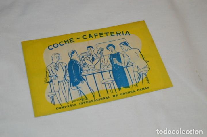 Líneas de navegación: IBERIA años 50/60 - Lote antiguos documentos / catálogos pasajeros - Muy curiosos y variados ¡Mira! - Foto 14 - 198845186