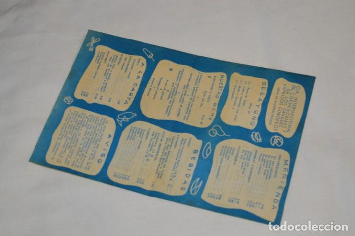 Líneas de navegación: IBERIA años 50/60 - Lote antiguos documentos / catálogos pasajeros - Muy curiosos y variados ¡Mira! - Foto 15 - 198845186