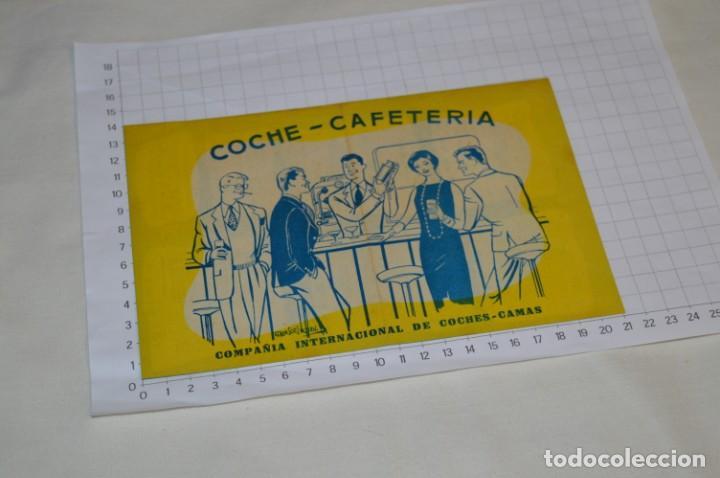 Líneas de navegación: IBERIA años 50/60 - Lote antiguos documentos / catálogos pasajeros - Muy curiosos y variados ¡Mira! - Foto 16 - 198845186