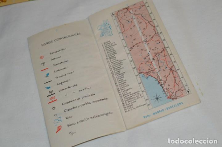 Líneas de navegación: IBERIA años 50/60 - Lote antiguos documentos / catálogos pasajeros - Muy curiosos y variados ¡Mira! - Foto 18 - 198845186