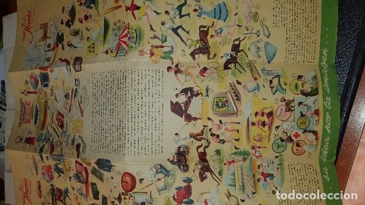 Líneas de navegación: Varios impresos de iberia, carpetilla, publicidad, idioma grafico, carta sobre, emt linea - Foto 8 - 206515461