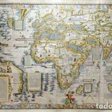 Líneas de navegación: CARTA MARINA DE 1516, MARTIN WALDSEEMÜLLER, PORTULANO, VIAJES MARÍTIMOS. FACSÍMIL. Lote 207571967