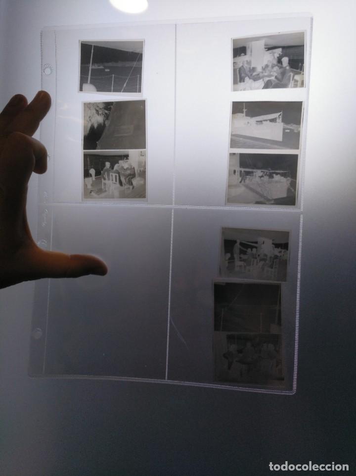 NEGATIVOS FOTOGRÁFICOS DE UN VIAJE EN YATE DE RECREO O SIMILAR. AÑOS 1920 APROX. (Coleccionismo - Líneas de Navegación)