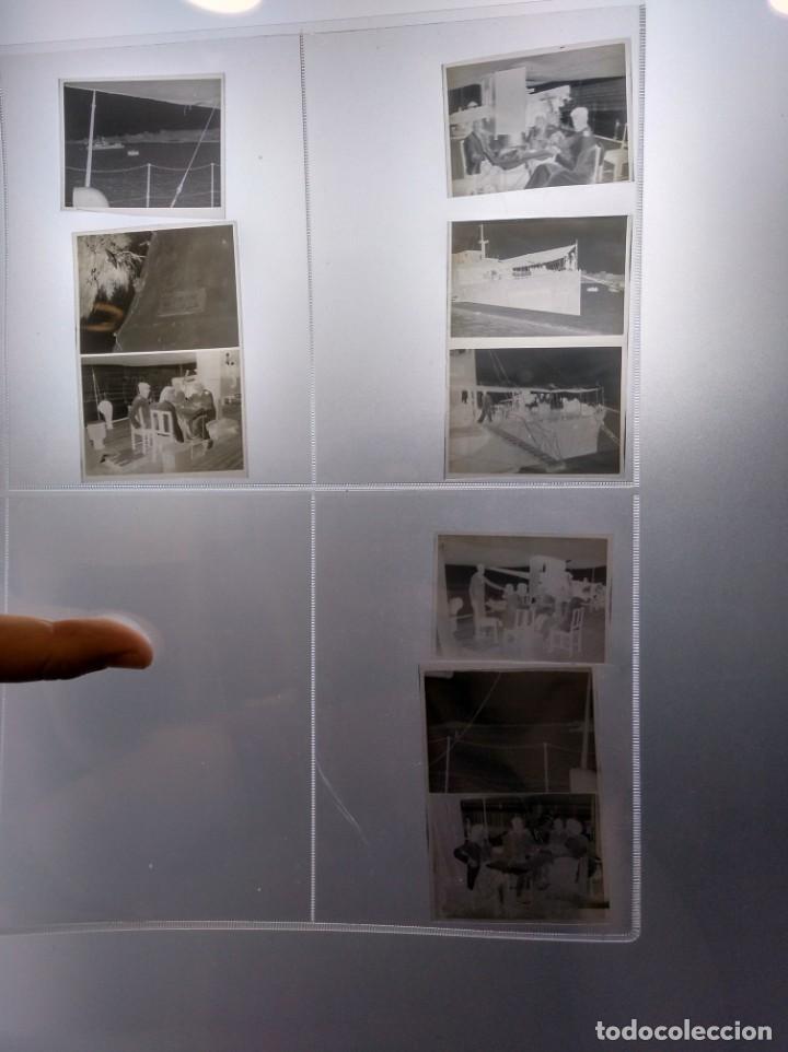 Líneas de navegación: Negativos fotográficos de un viaje en yate de recreo o similar. Años 1920 aprox. - Foto 2 - 209155935