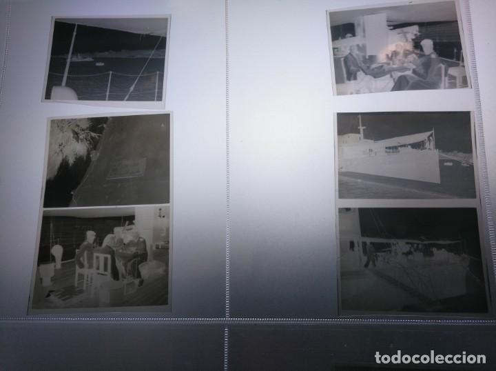Líneas de navegación: Negativos fotográficos de un viaje en yate de recreo o similar. Años 1920 aprox. - Foto 4 - 209155935