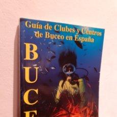Líneas de navegación: GUÍA DE CLUBES Y CENTROS DE BUCEO EN ESPAÑA. Lote 210194843