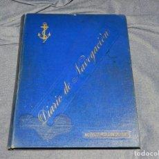 Líneas de navegación: (MF) DIARIO DE NAVEGACION DECLARADO DE UTILIDAD 13 DE AGOSTO 1907, MARINA MERCANTE 1909. Lote 210215806