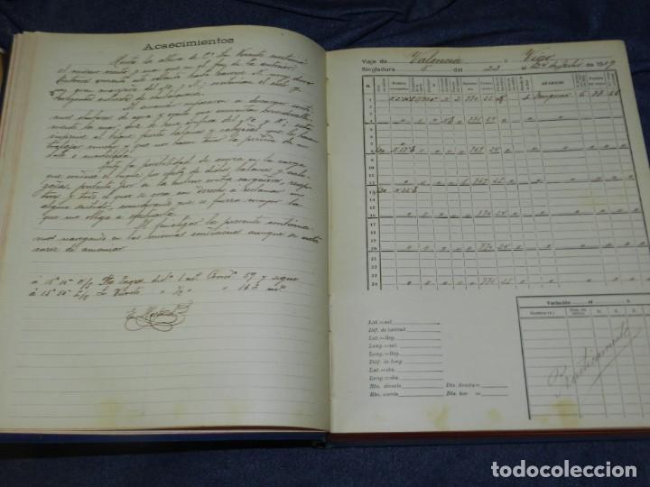 Líneas de navegación: (MF) DIARIO DE NAVEGACION DECLARADO DE UTILIDAD 13 DE AGOSTO 1907, MARINA MERCANTE 1909 - Foto 6 - 210215806