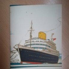 Líneas de navegación: ROYAL MAIL. LIST OF PASSENGERS. R. M. S. ANDES 1949.. Lote 215564608