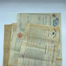 Líneas de navegación: LOTE DE 5 DOCUMENTOS DE EMBARQUE DIFERENTES. SHIPPING DOCUMENT. VER TODAS LAS FOTOS. Lote 220091862
