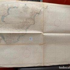 Líneas de navegación: CARTA NÁUTICA , CABO DE GATA A MESA DE ROLDAN , CADIZ , INST. HIDROGRÁFICO DE LA MARINA 1975. Lote 220356512