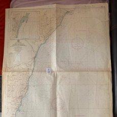 Líneas de navegación: CARTA NÁUTICA , DE MESA DE ROLDAN A ISLA DE LOS TERREROS , CADIZ , INST. HIDROGRÁFICO DE LA MARINA. Lote 220358992