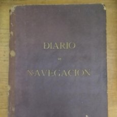 Líneas de navegación: DIARIO DE NAVEGACIÓN O CUADERNO DE BITÁCORA - EDICIONES FRAGATA - 1956. Lote 221257011