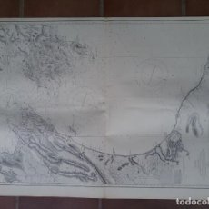 Líneas de navegación: GRAN MAPA DE NAVEGACIÓN DE COOK STRAIT EN BUEN ESTADO.. Lote 225602576
