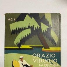 Líneas de navegación: NAVIGAZIONE GENREALE ITALIANA, ORAZIO.VIRGILIO. CATALOGO CON FOTOGRAFIAS Y CARACTERISTICAS.NGI.. Lote 232283125
