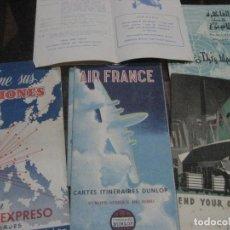 Linhas de navegação: LOTE 5 CATALOGO PUBLICIDAD LINEAS COMPAÑIA AEREA AIR FRANCE AIR ALGERIE IMPERIAL AIRWAYS. Lote 234395435