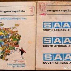 Líneas de navegación: REVISTA AUROGUÍA ESPAÑOLA Nº 1 Y 2 ENERO Y FEBRERO 1970 - GUÍA ESPAÑOLA DEL TRÁFICO AÉREO. Lote 240969380