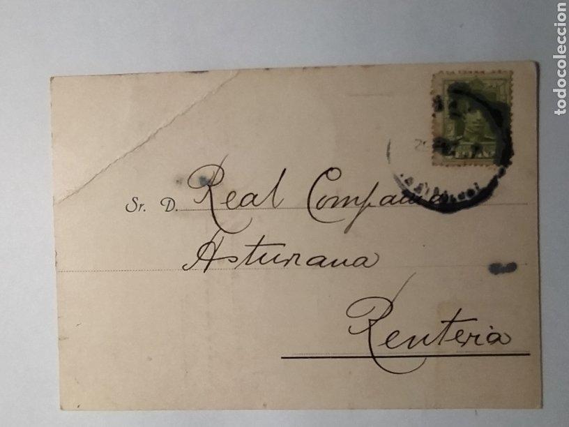 Líneas de navegación: AÑO 1927. PUY Y LETAMENDIA. CONSIGNATARIOS. PASAJES. ITINERARIO VAPOR MAGDALENA. REMITIDO A LA REAL - Foto 2 - 42919033