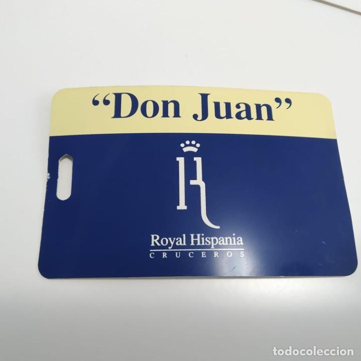 Líneas de navegación: Lote de la antigua naviera española Royal Hispania Cruceros, Casino Royal y Buque Don Juan, años 90 - Foto 4 - 247996525