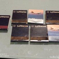Linee di navigazione: LOTE 7 CAJAS CERILLAS ANTIGUAS LUFTHANSA LÍNEAS AÉREAS. Lote 239983640