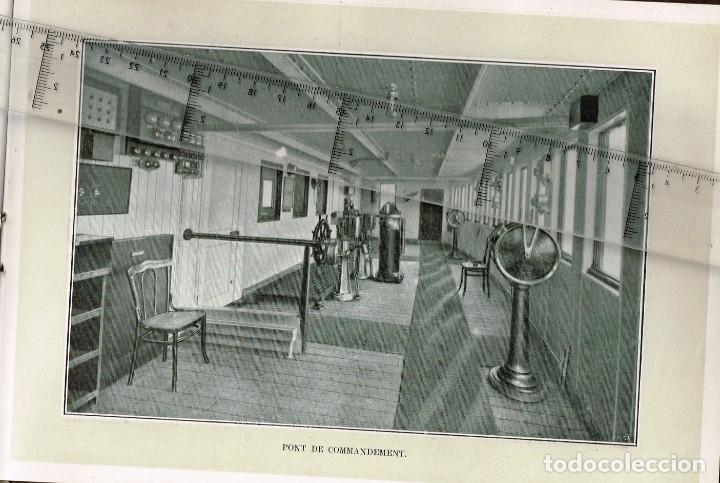 """Líneas de navegación: 1924 ALBUM DEL TRASATLÁNTICO """"GIULIO CESARE"""" + 2 Cartas publicitarias iguales de la Naviera - Foto 5 - 252659140"""