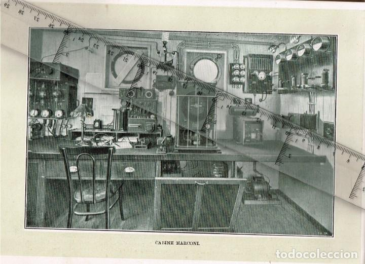 """Líneas de navegación: 1924 ALBUM DEL TRASATLÁNTICO """"GIULIO CESARE"""" + 2 Cartas publicitarias iguales de la Naviera - Foto 6 - 252659140"""