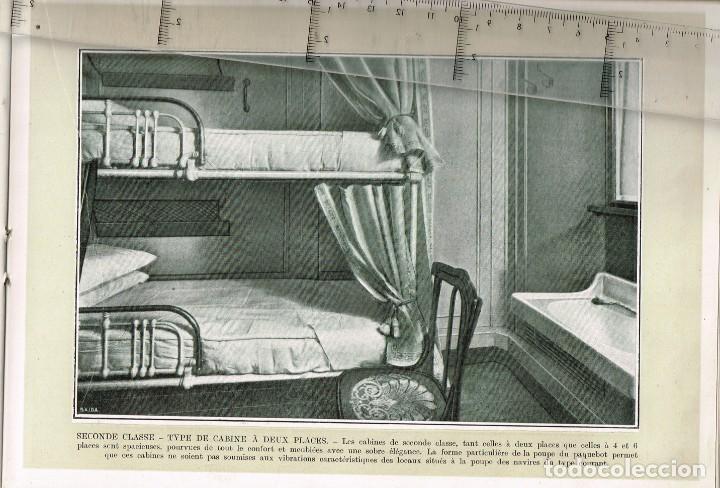 """Líneas de navegación: 1924 ALBUM DEL TRASATLÁNTICO """"GIULIO CESARE"""" + 2 Cartas publicitarias iguales de la Naviera - Foto 8 - 252659140"""