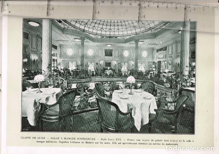 """Líneas de navegación: 1924 ALBUM DEL TRASATLÁNTICO """"GIULIO CESARE"""" + 2 Cartas publicitarias iguales de la Naviera - Foto 10 - 252659140"""