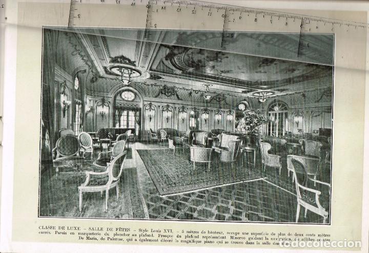 """Líneas de navegación: 1924 ALBUM DEL TRASATLÁNTICO """"GIULIO CESARE"""" + 2 Cartas publicitarias iguales de la Naviera - Foto 12 - 252659140"""