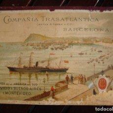 Líneas de navegación: TRASATLANTICA 1.894. Lote 253024815