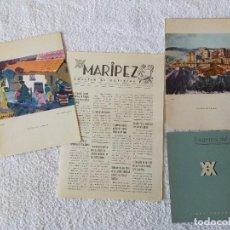 Líneas de navegación: COLECCION YBARRA. CRUCERO ISLAS GRIEGAS Y TURQUIA - CARTAS DE MENUS, PROGRAMA Y BOLETIN - 17/7/1961. Lote 254358270
