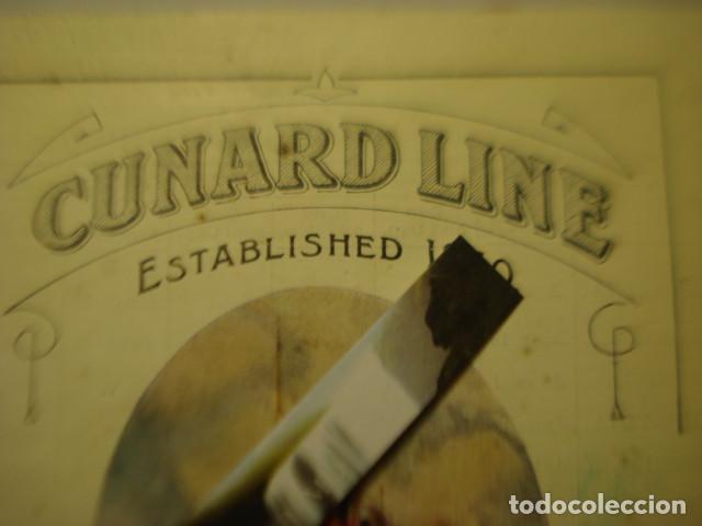Líneas de navegación: CUNARD LINE - TRASATLANTICOS LUSITANIA Y FRANCONIA - AÑO 1911 PIEZA DE MUSEO - FOLLETO EUROPA USA - Foto 2 - 255474975