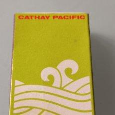 Linee di navigazione: RETRO CAJA CERILLAS CATHAY PACIFIC, HONG KONG. Lote 260350890