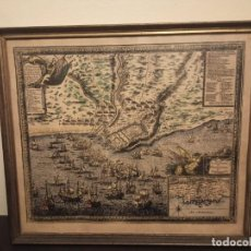 Líneas de navegación: CARTE DU GOUVERNAMENT DE TARRAGONE -1664- ANTIGUA CARTA- MAPA- DE NAVAGACION TARRAGONA. Lote 262484960