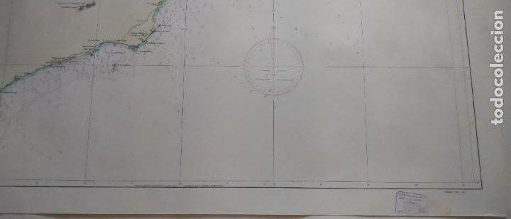 Líneas de navegación: DE CABO DE LAS HUERTAS A CABO DE SAN ANTONIO. INSTITUTO HIDROGRÁFICO DE LA MARINA. CÁDIZ, 1963 - Foto 5 - 262951045