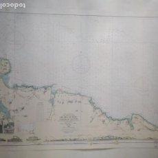 Lignes de navigation: DEL ABRA DE BILBAO A LA RÍA DE SANTOÑA. INSTITUTO HIDROGRÁFICO DE LA MARINA. CÁDIZ, 1963. Lote 262952030