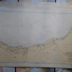 Linhas de navegação: DE LA DESEMBOCADURA DEL RÍO ADOUR AL CABO DE SANTA CATALINA. I.HIDROGRÁFICO DE LA MARINA. CÁDIZ 1960. Lote 262952695