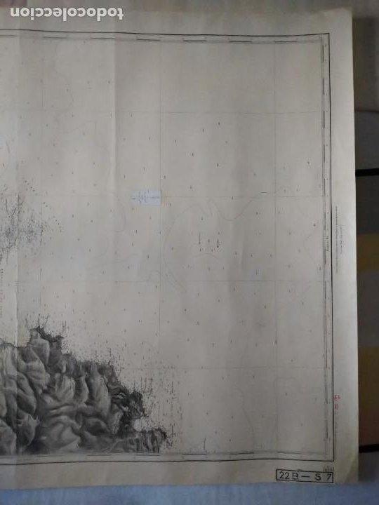 Líneas de navegación: CARTA NÁUTICA - DU CAP DRAMMONT AU VAR. REPRODUCCIÓN DE 1953 DEL ORIGINAL DE 1911. - Foto 4 - 262954175