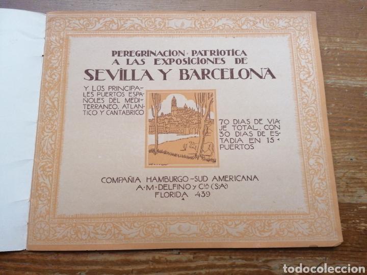 Líneas de navegación: GRAN CRUCERO PATRIÓTICO ESPAÑA - MONTE SARMIENTO. 1930 - Foto 2 - 265775489